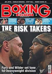 Boxing Monthly issue October 2018