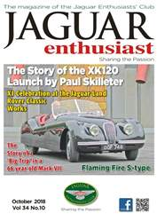 Jaguar Enthusiast issue October 2018