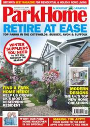 Park Home & Holiday Caravan issue November 2018