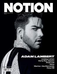 Notion Magazine Magazine Cover