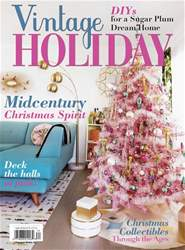 Victorian Homes issue Vintage Holiday Fall 2018
