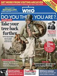 Who Do You Think You Are? issue October 2018