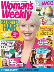 Womans Weekly issue 2nd October 2018