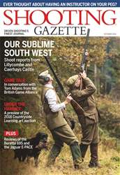 Shooting Gazette issue October 2018