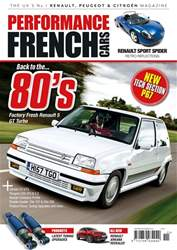 Performance French Cars issue Nov / Dec 18
