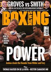 Boxing News issue 25/09/2018
