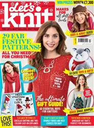 Let's Knit issue Xmas Special 2018