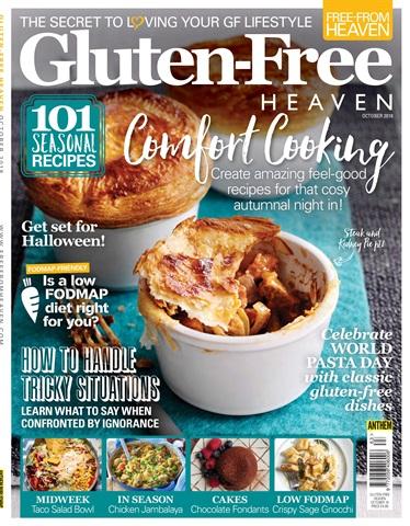 Gluten-Free Heaven issue Gluten-Free Heaven October