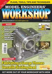 Model Engineers' Workshop Magazine issue Oct-18