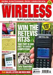 Practical Wireless issue November 2018