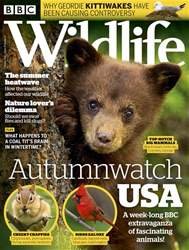 BBC Wildlife Magazine issue October 18