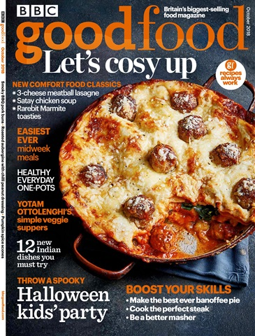 BBC Good Food issue October 2018