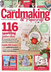 Cardmaking & Papercraft issue November 18