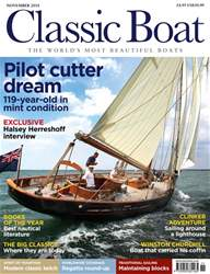 Classic Boat issue November 2018