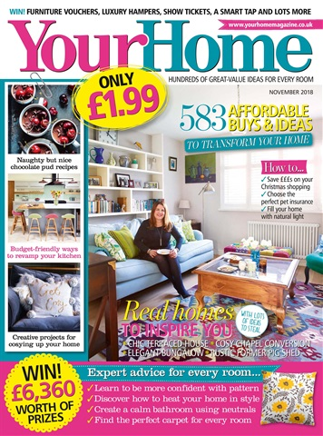 Your Home Magazine issue November 2018