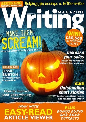 Writing Magazine issue November 2018