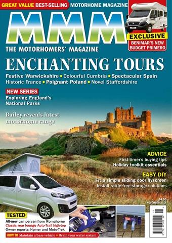 MMM magazine issue Enchanting Tours issue - November 2018