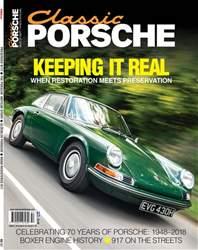 Classic Porsche Magazine Cover
