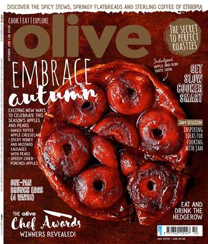 Olive Magazine issue October 2018