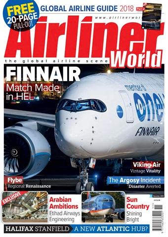 Airliner World issue   November 2018