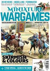 Miniature Wargames issue November 2018 (427)
