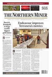 The Northern Miner issue Vol. 104 No. 20
