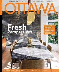 Ottawa Magazine issue Interiors 2 2018