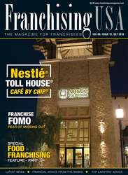 Franchising USA issue October 2018