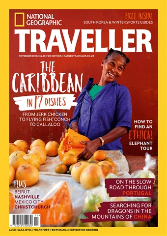 National Geographic Traveller (UK) issue November 2018