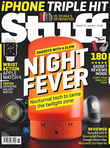 Stuff issue November 2018
