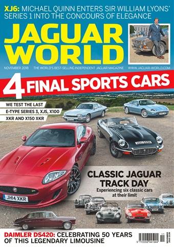 Jaguar World issue November 2018