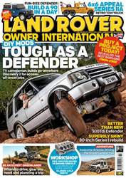 Land Rover Owner issue November 2018