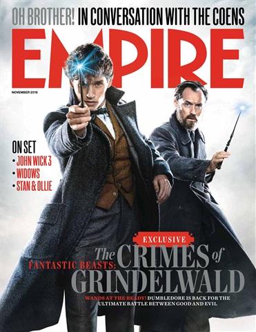 Empire issue November 2018