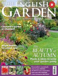 The English Garden Magazine Cover