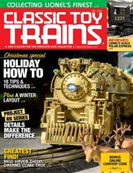 Classic Toy Trains issue December 2018