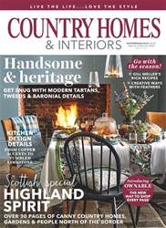 Country Homes & Interiors issue November 2018
