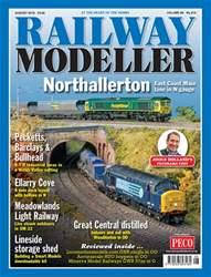 Railway Modeller August 2018 issue Railway Modeller August 2018