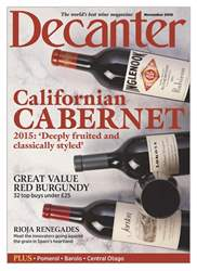 Decanter issue November 2018