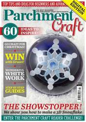 Parchment Craft issue November 2018