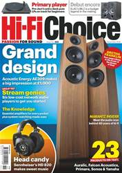 Hi-Fi Choice issue Nov-18