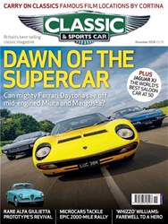 Classic & Sports Car issue November 2018