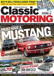 Classic Motoring issue Nov-18