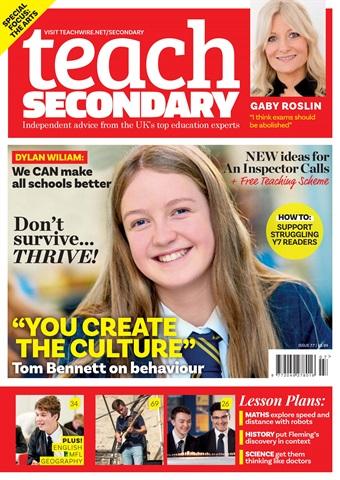 Teach Secondary issue V.7 No.7