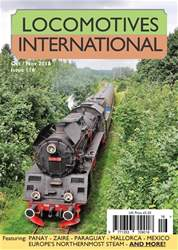 Locomotives International issue Issue 116 -October-November 2018