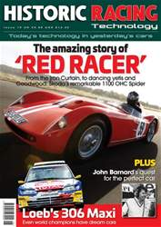Historic Racing Technology issue Historic Racing Technology