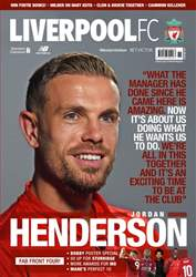 Liverpool FC Magazine issue Nov-18