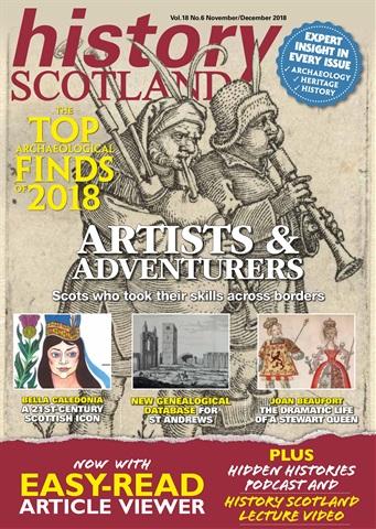 History Scotland issue Nov - Dec 2018