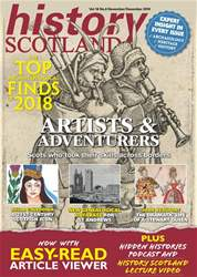 History Scotland issue Nov - Dec 2018