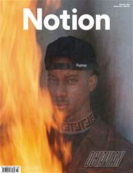 Notion Magazine Magazine Cover