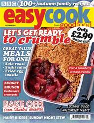 Easy Cook Magazine Cover